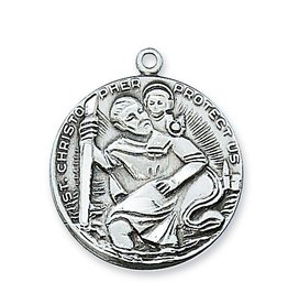 McVan Pewter St. Christopher Medal