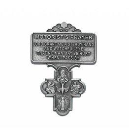 McVan Motorist's Prayer 4 Way Cross Visor Clip