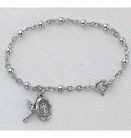 McVan 3mm Sterling Silver Baby Bracelet