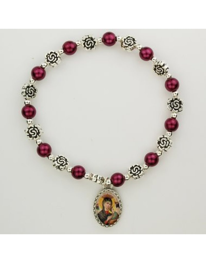 McVan Our Lady of Perpetual Help Stretch Bracelet