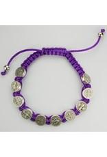 McVan Purple Benedict Cord Bracelet
