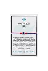 My Saint My Hero One Nation Under God United in Prayer Bracelet