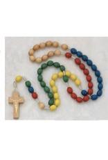 McVan Multicolor Wood Mission Rosary