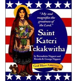 Nippert & Co. Artworks Saint Kateri Tekakwitha Book