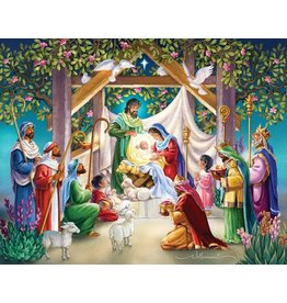 Vermont Christmas Company Magi at the Manger Advent Calendar