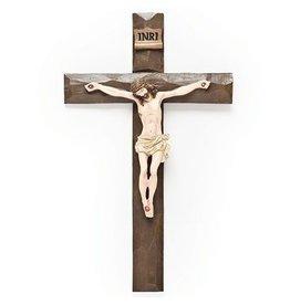 Roman, Inc Driftwood Texture Crucifix