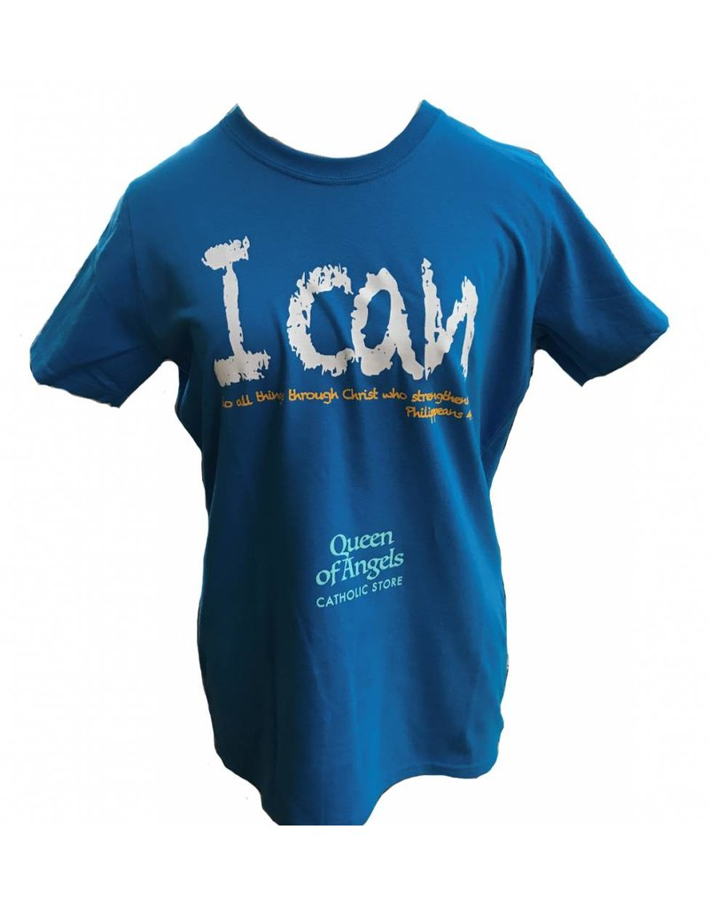 QOA Catholic I Can Do All Things T-shirt