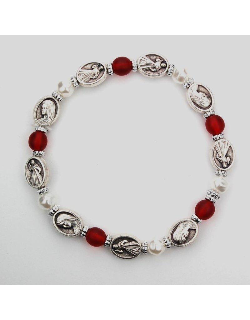 McVan Divine Mercy Stretch Bracelet