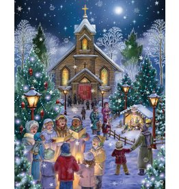 Vermont Christmas Company Midnight Mass 1,000 Piece Puzzle