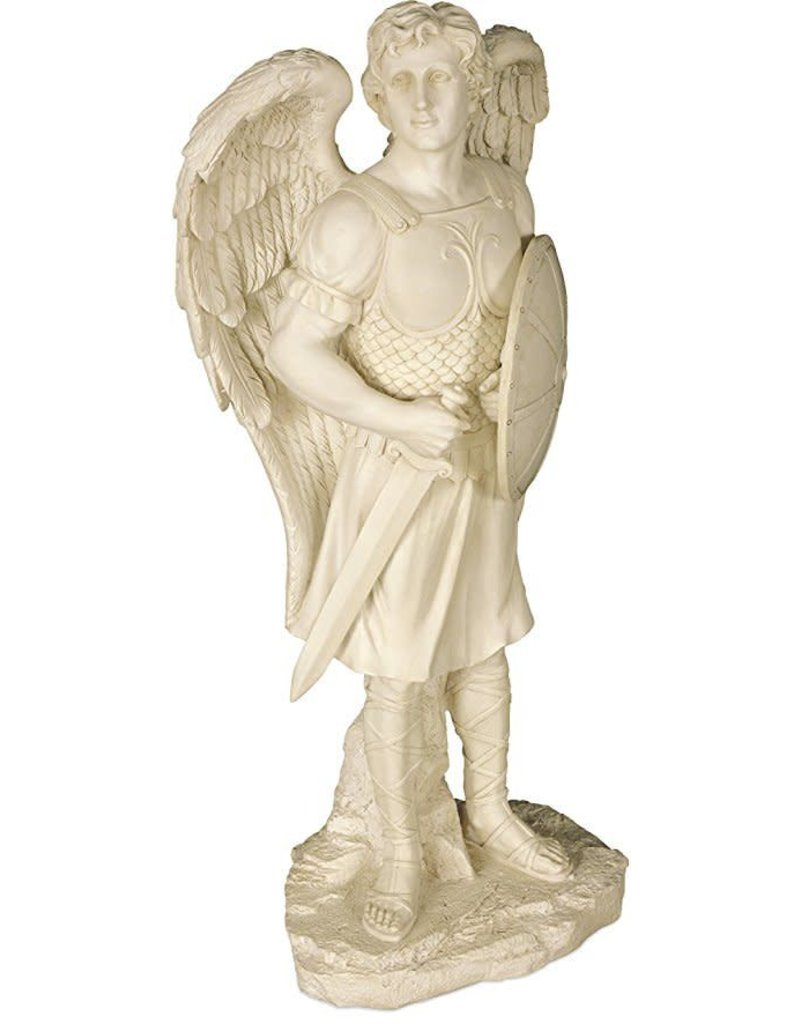 "Angel Star 24"" St. Michael Garden Statue"