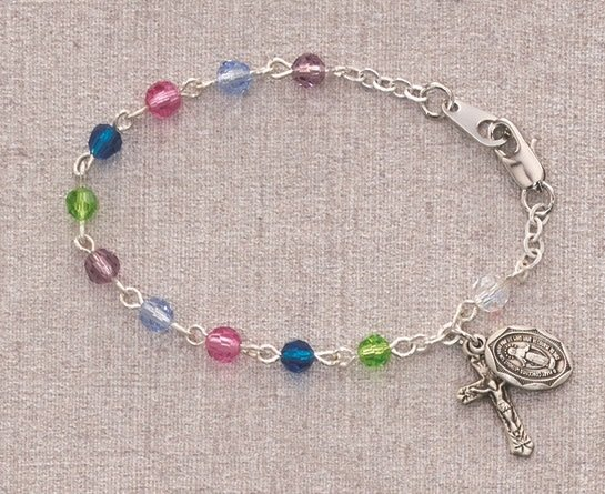 "McVan 5 1/2"" Multi-Color Baby Bracelet"