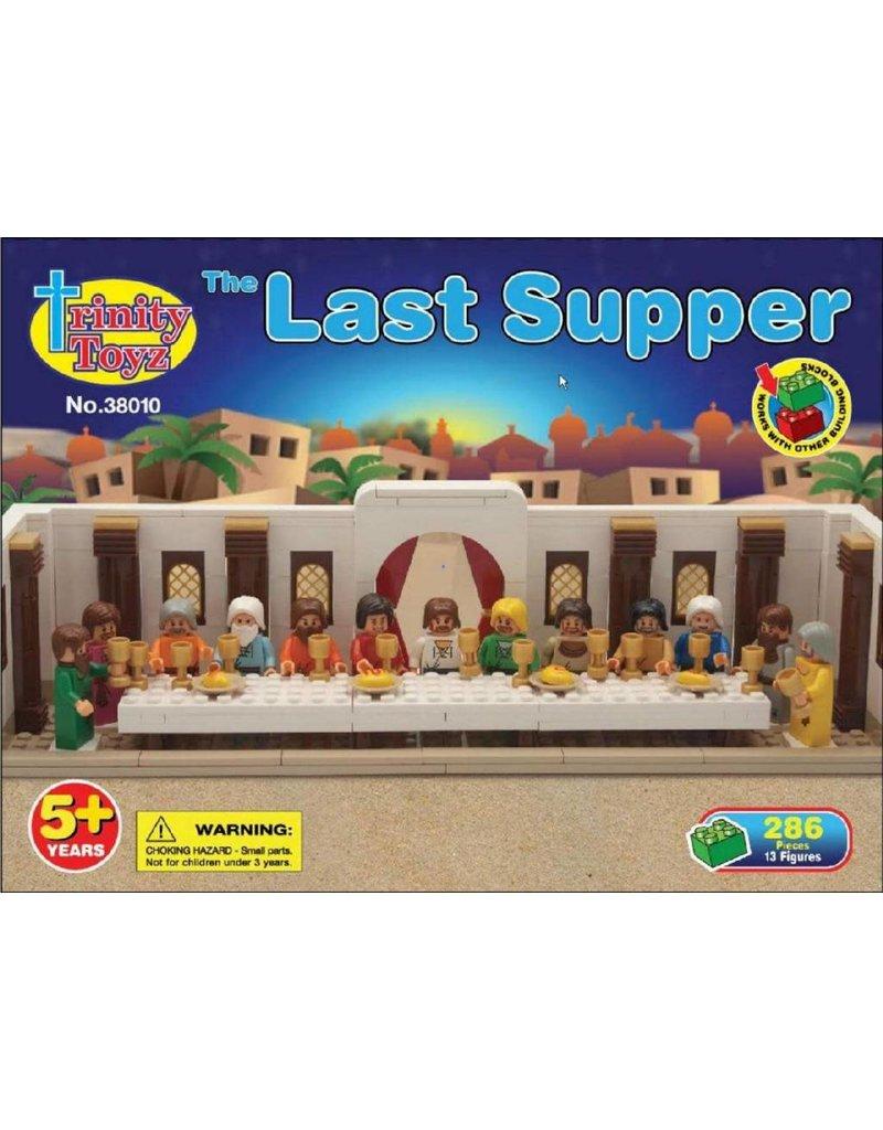Trinity Toyz Trinity Toyz Last Supper Construction Block Set, 286 pc