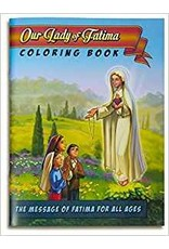 Deo Gratias Our Lady Of Fatima: The Graphic Novel Coloring Book