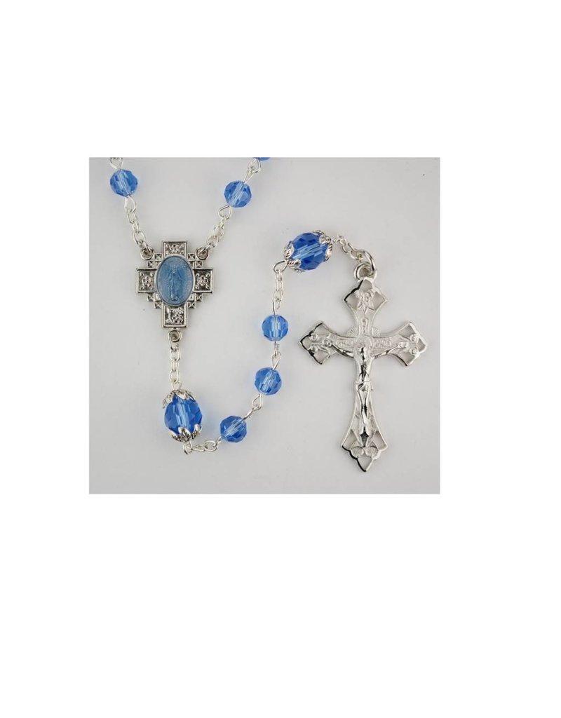 McVan Blue Crystal Rosary