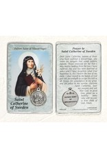 Lumen Mundi Healing Saints Card with Medal