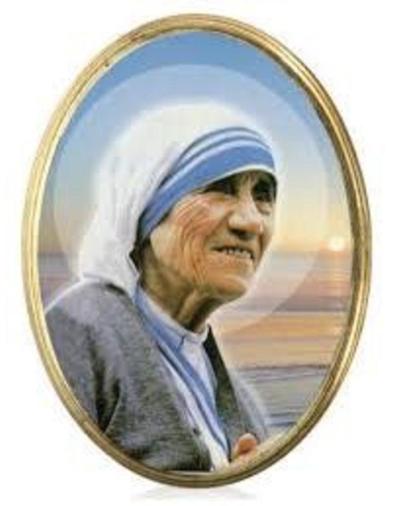Lumen Mundi St. Teresa of Calcutta Oval Plaque