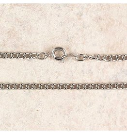 "McVan 18"" Heavy Rhodium Chain"