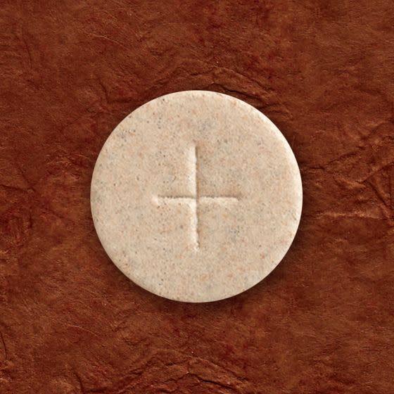 "Cavanagh Altar Bread 1 3/8"" (35mm) - Whole Wheat - Box of 1,000"