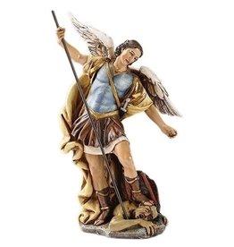 "Joseph's Studio 7.25"" St. Michael The Archangel Defeating Satan Figurine"