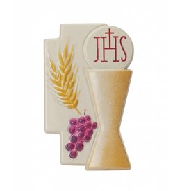 "McVan 2.5"" x 1.5"" Resin Communion Cake Topper"