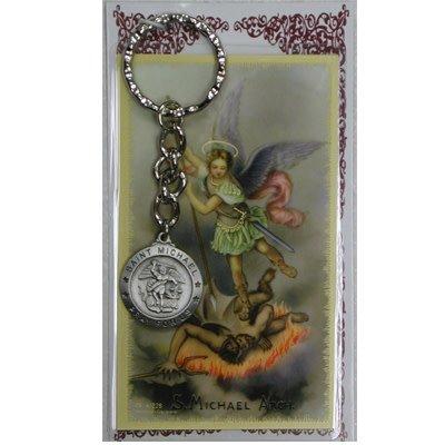 McVan St. Michael Key Ring with Prayer Card
