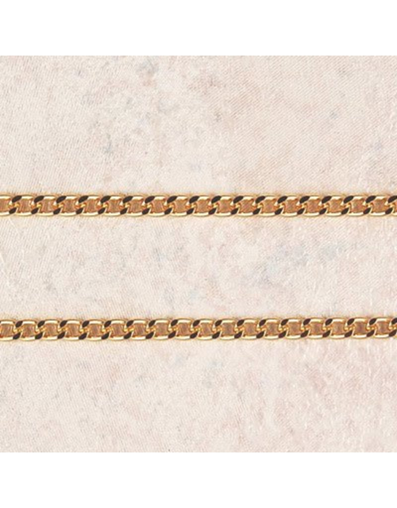"""McVan 27"""" Heavy Gold Plated Chain"""