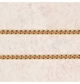 "McVan 30"" Heavy Gold Plated Chain"