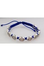 McVan Blue St. Michael Cord Bracelet