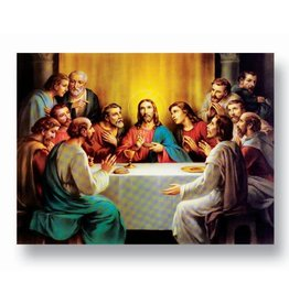 "WJ Hirten 19"" x 27"" The Last Supper Poster"