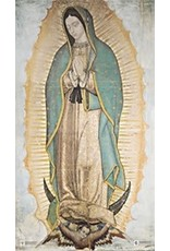 "Marian Press 10"" x 17"" Our Lady of Guadalupe Poster"