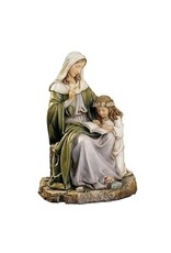 """Roman, Inc 7"""" Saint Anne with Mary Statue"""