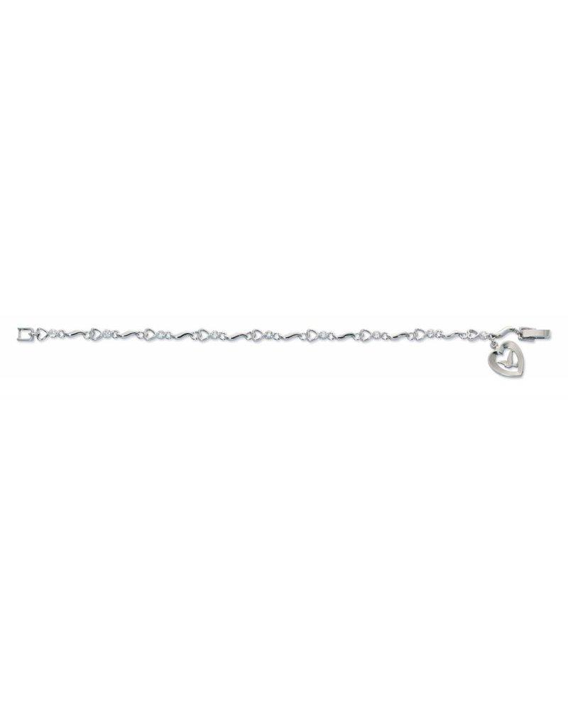 "7 1/2"" Cubic Zirconia Bracelet"