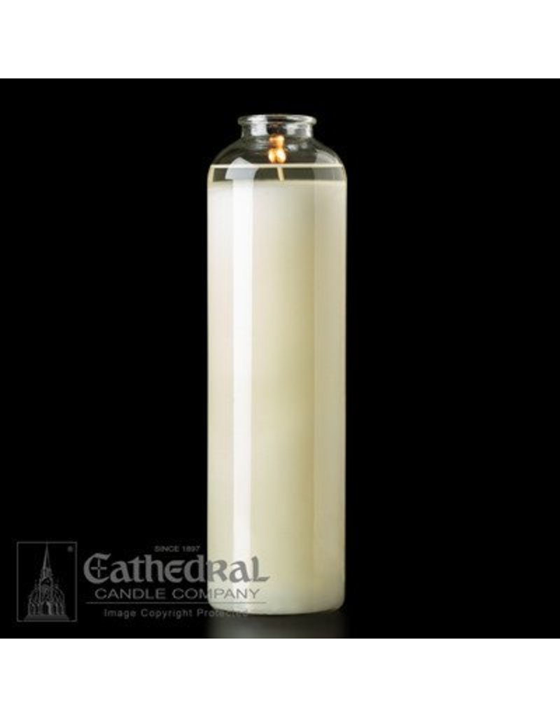 Cathedral Candle Co. 14-Day Domus Christi 51% Beeswax Sanctuary Light (Bottle Style, Box of 9)