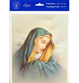 "WJ Hirten 8"" X 10"" Our Lady of Sorrows (Print Only)"