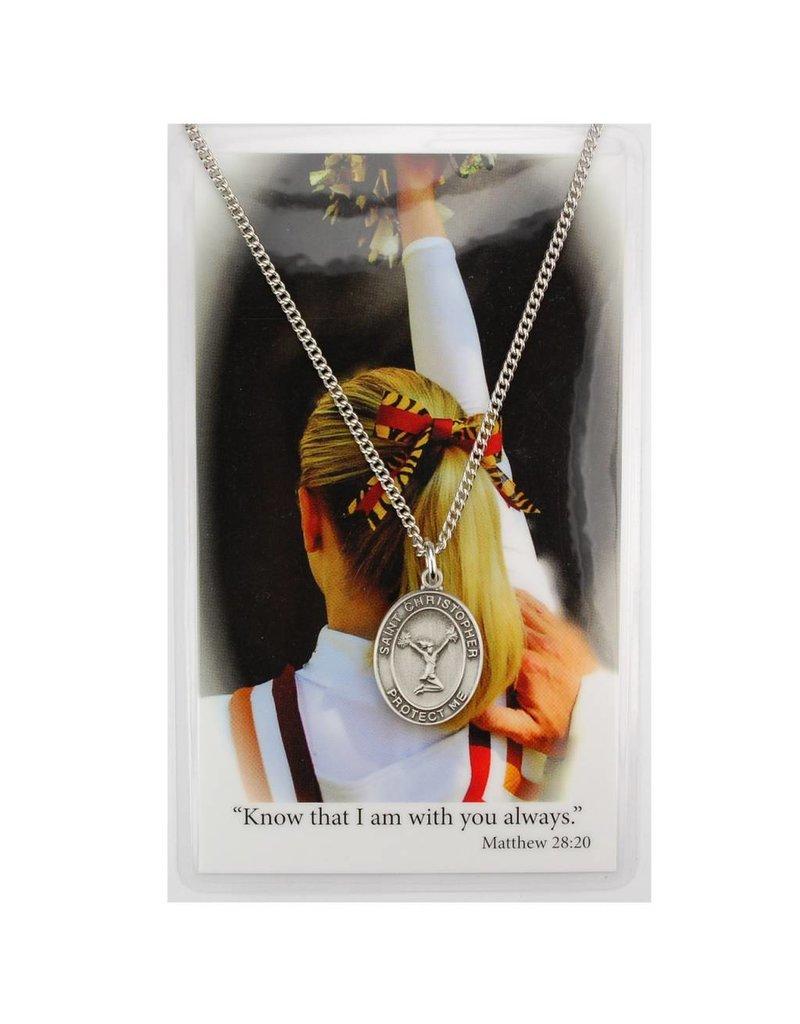 McVan Pewter Pendant with Prayer Card