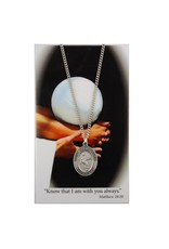 McVan Pewter Pendant with Prayer Card