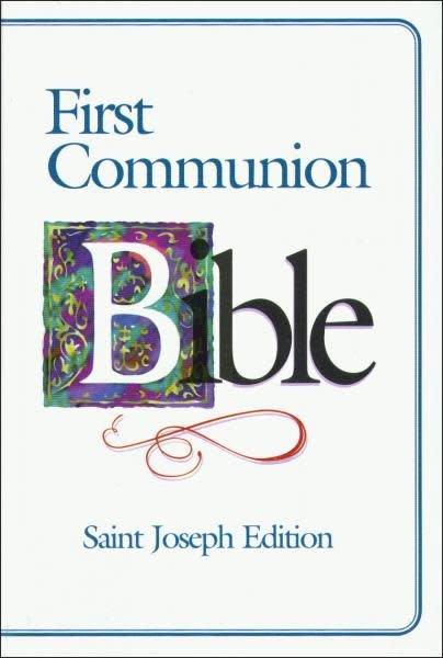 Catholic Book Publishing Corp St. Joseph Edition New American First Communion Bible (Boys)