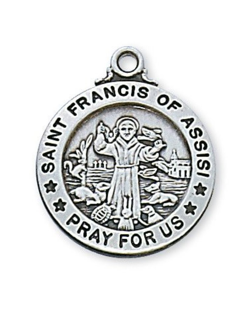 McVan Sterling Silver Saint Francis Medals