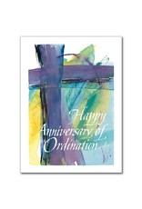 The Printery House Happy Anniversary of Ordination Card
