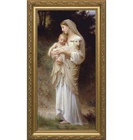Nelson Fine Art L'Innocence - Standard Gold Framed Art