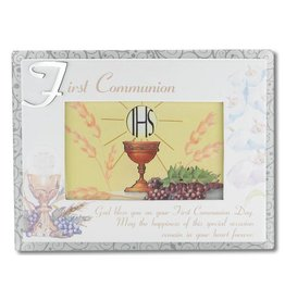 "WJ Hirten 6"" x 4"" First Communion Photo Frame"