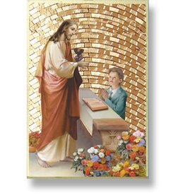 WJ Hirten First Communion Mosaic Plaque (Boy)
