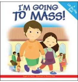 The Word Among Us Press I'm Going To Mass: A Lift-the-Flap Book
