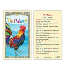 Ambrosiana Cursillo De Colores Prayer Card