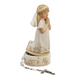 "Avalon Gallery 6"" Girl First Communion Keepsake Box"