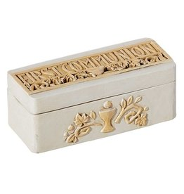 "Avalon Gallery 2"" Remembrance First Communion Keepsake Box"