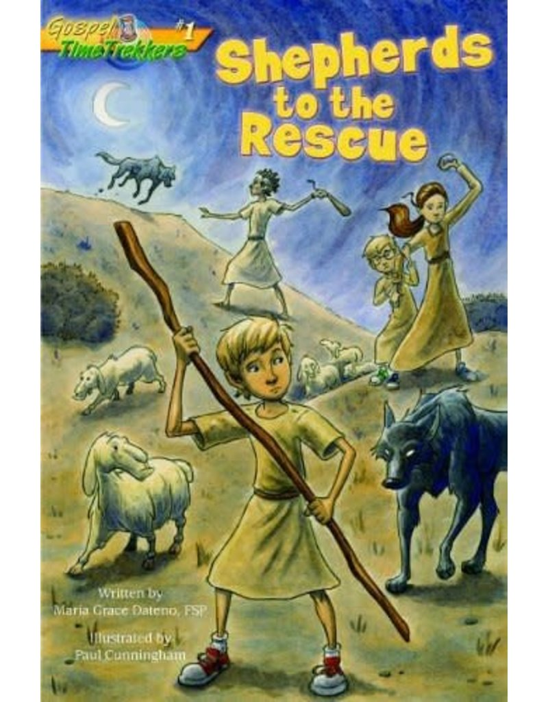 Pauline Books & Publishing Shepherds to the Rescue (Gospel Time Trekkers)