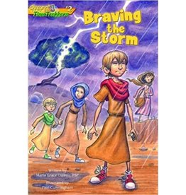 Pauline Books & Publishing Braving the Storm (Gospel Time Trekkers)