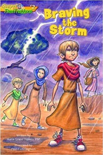 Pauline Books & Publishing Braving the Storm (Gospel Time Trekkers)