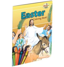 St. Joseph Coloring Books Coloring Book about Easter